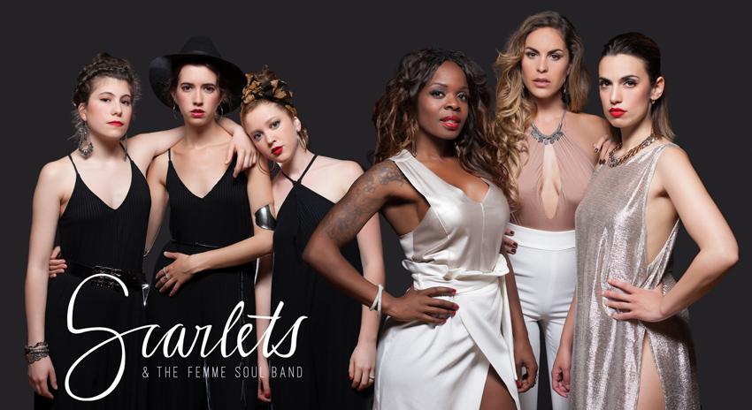 Scarlets Scarlets & The Femme Soul Band